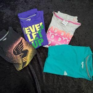 Adidas T.Shirts 4!!!  Size Large